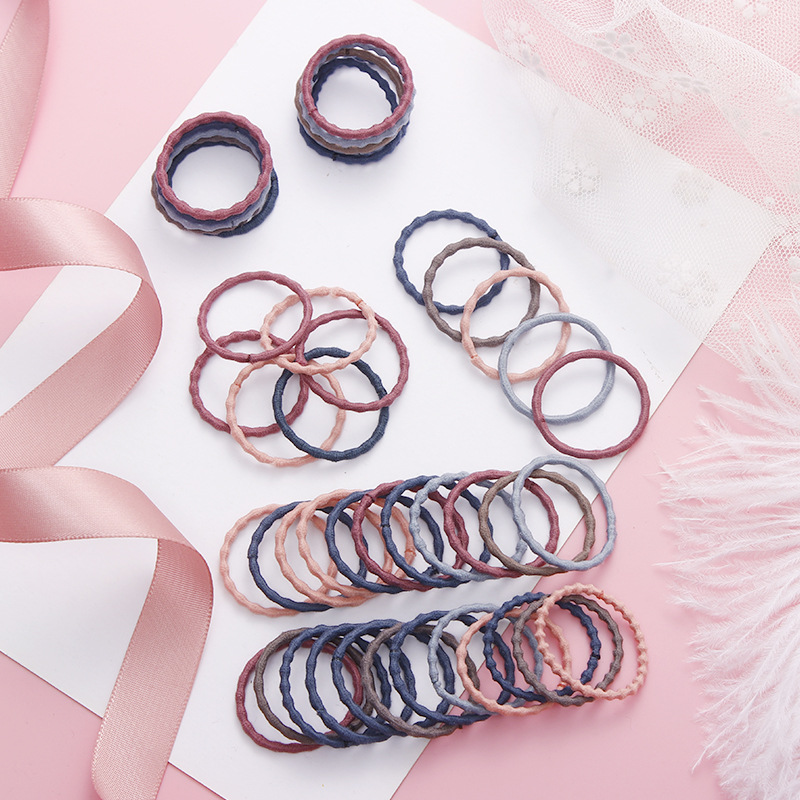 50/100pcs Girls Rubber Bands Scrunchy Elastic Hair Bands Ponytail Holder Kids Baby Hair Accessories Ties Gum for Hair Pakistan