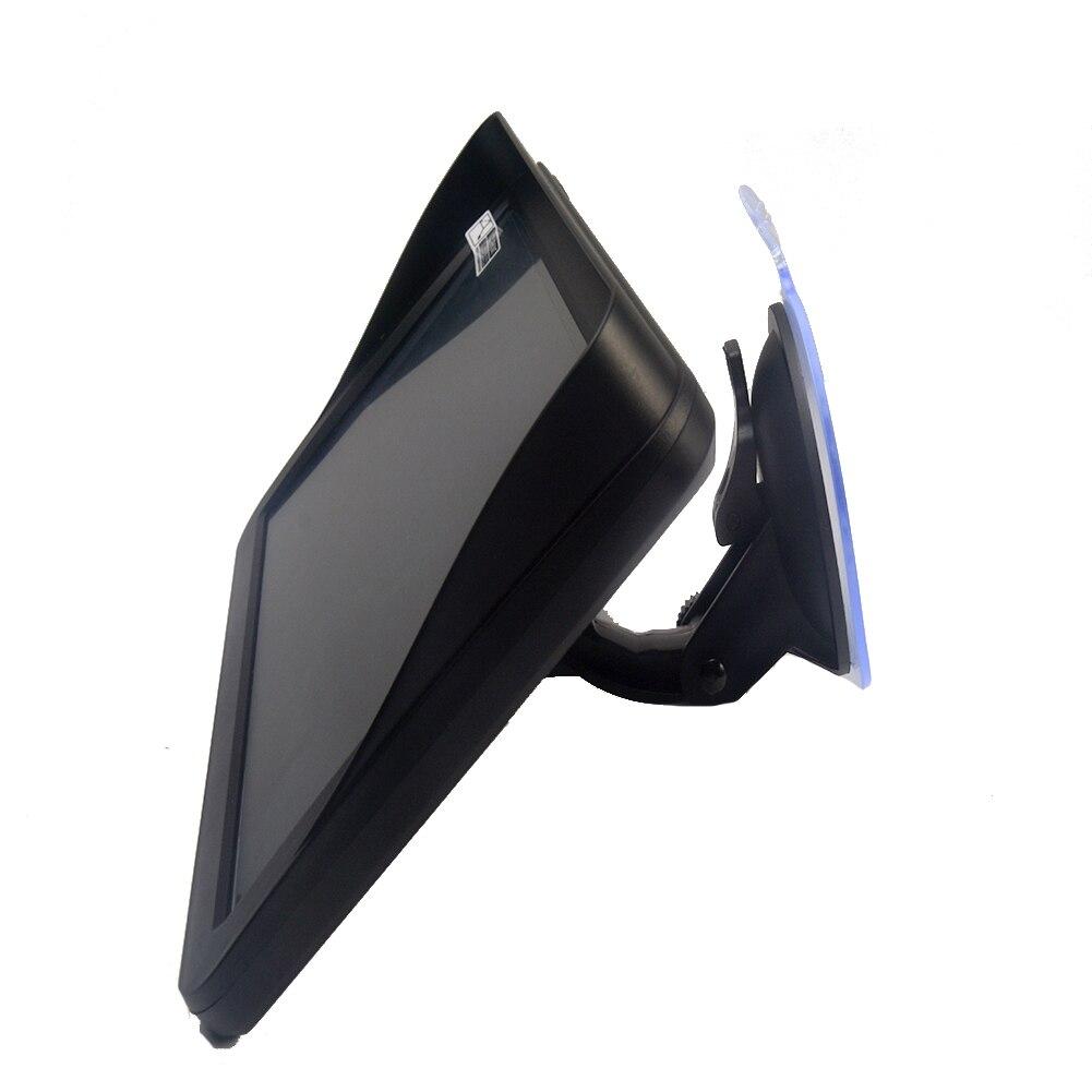 9 pouces 256 mo 8G guidage GPS navigateur HD multifonctionnel écran tactile FM camion multilingue Portable avec pare-soleil caravane voiture
