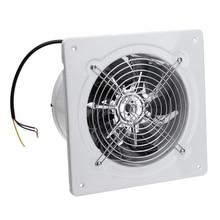 4 дюйма 20 Вт 220 В высокоскоростной вытяжной вентилятор для туалета, кухни, ванной комнаты, Подвесной Настенный оконный стеклянный небольшой вентилятор, вытяжной вентилятор s