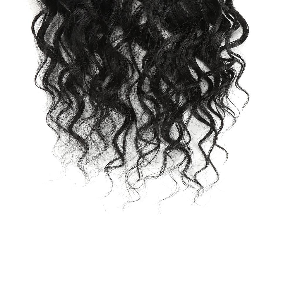 Bella kinky cabelo encaracolado tecer resistente ao