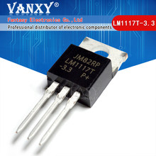 10PCS LM1117T-3.3 TO220 LM1117-3.3 LM1117T 3.3V LM1117 PARA-220