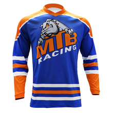 DH Motocross MX  Long Sleeve MTB Jersey Cross-country Motorcycle Riding Downhill mtb jersey motocross