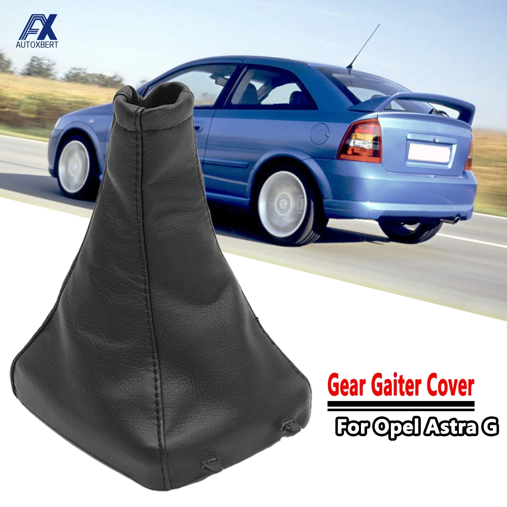 Фонарь для переключения передач, чехол для ботинка, чехол для Vauxhall Opel Astra G Mk4 Coupe 1998-2005 2000-2005, черный
