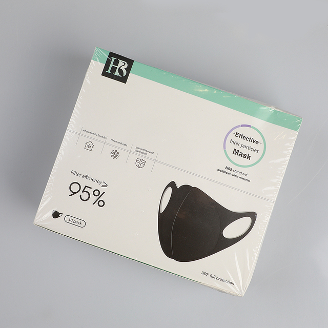 10 pcs/bag KN95 CE Certification Dust Respirator Mask