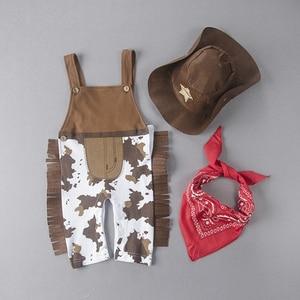 Image 2 - Umordenカウボーイ牛の少年の衣装ロンパースための幼児幼児ハロウィンクリスマス誕生日パーティーコスプレファンシードレス