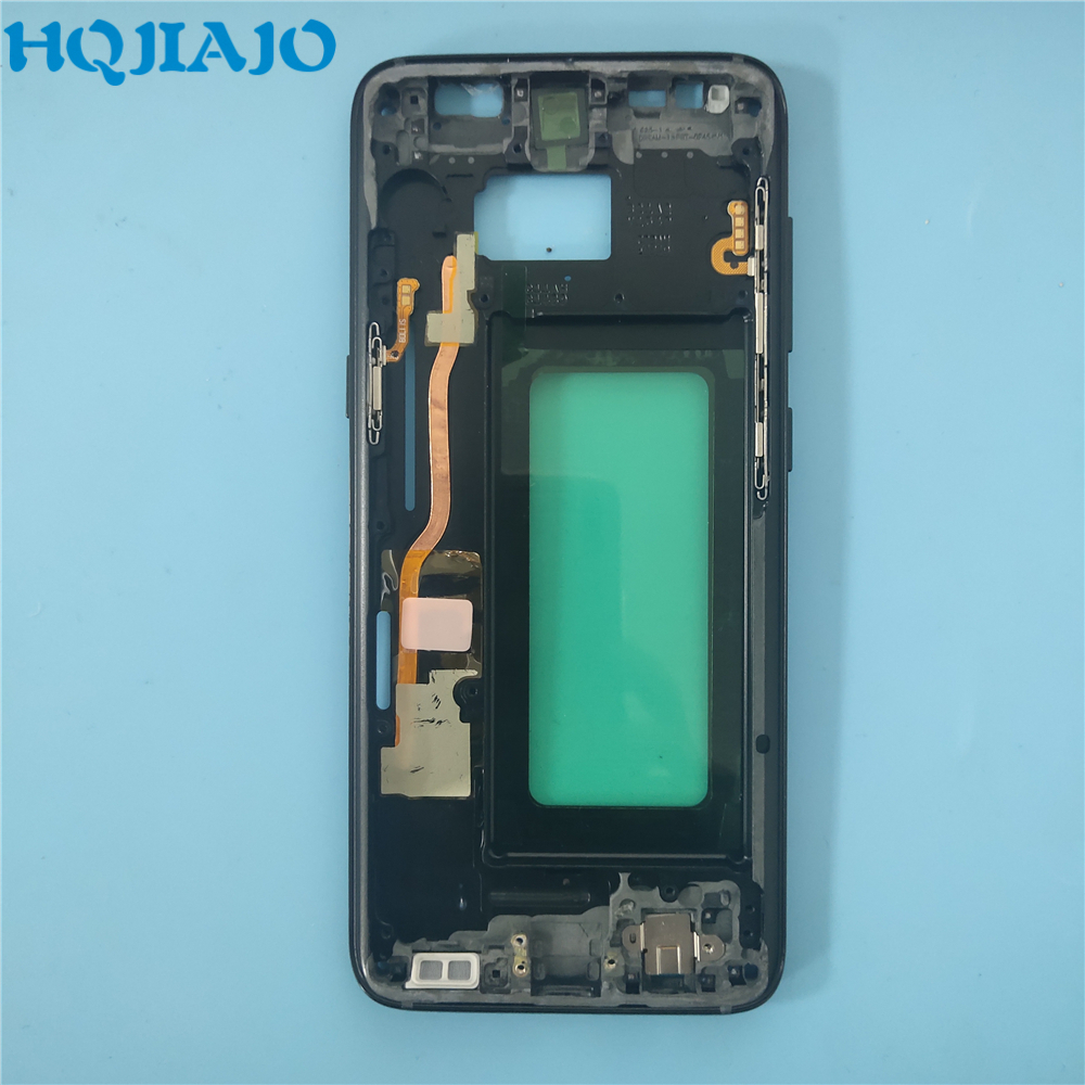 For Samsung Galaxy S8 G950 G950F S8 Plus G955 G955F Phone Housing Chassis LCD Plate New Middle Frame