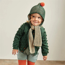Misha and Puff Toddler Boys Girls Knit Scarf with Hat Baby Keep Warm Winter Acce