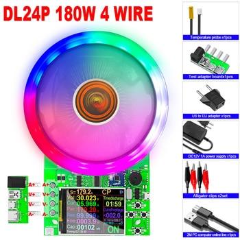 """2,4 """"4 De DC USB de carga electrónica 18650 capacidad de la batería Monitor de carga medidor de Banco de energía de Checker APP 2"""