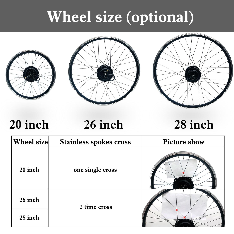Zestaw do zamiany na rower elektryczny 36V 350W napęd piasty koła z przekładnią kt kontroler LCD3 wyświetlacz elektryczny rower zestaw do zamiany na rower elektryczny