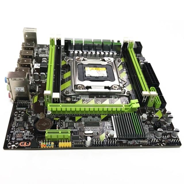 X79 x79g conjunto de placa-mãe com lga2011 combos xeon e5 2620 cpu 2 pçs x 4gb = 8gb memória ddr3 ram 1333mhz pc3 10600r