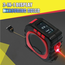 40M Laser Measuring Tape 3-in-1 Display Measuring Ruler Digital Electronic Roulette Measure Cord Mode Laser Measure Tool