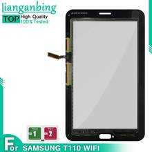Nieuwe Screen Voor Samsung Galaxy Tab 3 SM-T110 SM-T111 SM-T113 SM-T116 Front touch Screen Digitizer Sensor Glas Vervanging(China)