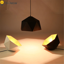 Vinatge Loft LED Chandelier Industrial Decor Iron Pendant Lights Kitchen Hanging Lamp Cafe Light Modern Fixture