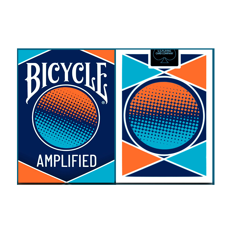 1 Deck Bicycle AMPLIFIED Playing Cards Magic Cards Paper Magic Category Poker Cards For Professional Magician