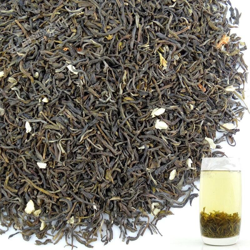 Early Spring Fresh 2019 Jasmine Flower Tea Green Organic Fragrance For Weight Loss Tea XIAO BAI HAO