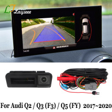 Parking-Camera Rearview Audi for Screen Installation-Plug Play DIY FY Q5 OEM Q3 F3 Q2