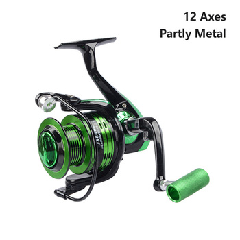 Fishing Reels Spinning Reel Carp Fishing Reel Fishing Accessories Sea Feeder Coil Fixed Spool Baitcasting Reel for Rod Saltwater spinning reel full metal fishing reel 4 7 1 9 1bb fly fishing reel feeder fishing baitcasting reel sd5000 series moulinet peche