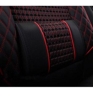 Image 3 - جديد الجلد و الجليد الحرير مقعد السيارة يغطي ل Volkswagen 4 5 6 7 vw passat b5 b6 b7 بولو جولف mk4 تيجوان جيتا طوارق اكسسوارات