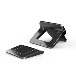 Image 3 - LINGCHEN Laptop Stand for MacBook Pro Universal Desktop Laptop Holder Mini Portable Cooling Pad Notebook Stand for Macbook Air