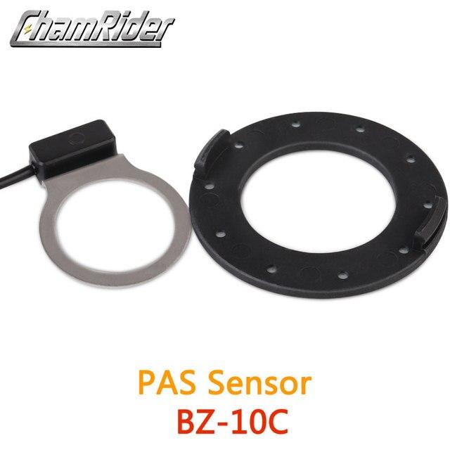 BZ 10C PAS System pedał asystent czujnik 10 magnesy dla Hollowtech korba korbowa zestaw do zamiany na rower elektryczny część