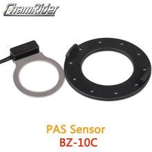 BZ 10C PAS sistemi pedalı yardımcısı sensörü 10 mıknatıslar Hollowtech krank aynakol elektrikli bisiklet dönüşüm kiti parçası