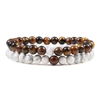 Paar-Armband mit Perlen