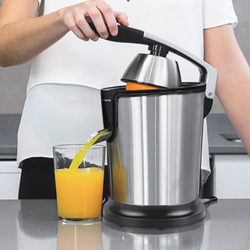 Top Sale Stainless Steel Orange 160W Lemon Electric Set Juicers Die-Casting Handle Household Low Power UK Plug