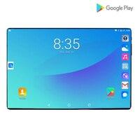 Закаленное стекло 2.5D 10,1 дюймов планшетный ПК Android 9,0 Восьмиядерный 6 ГБ ОЗУ 64 Гб ПЗУ 1280*800 ips 3g 4G LTE громкий звонок планшет 10 10,1