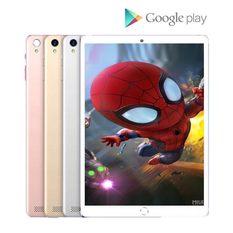 10.1 Inch Google 6G+128GB Tablet 1280*800 IPS Screen Tablet 10 Octa Core MT6797 4G Dual SIM Card Phone 4G Call Wifi Tablets PC
