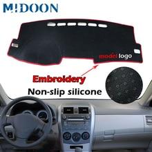 Dash Mat Dashmat Dashboard Cover Sun Shade Dash Board Cover Carpet For Toyota Corolla E140/E150 2006 2007 2008 2009   2013
