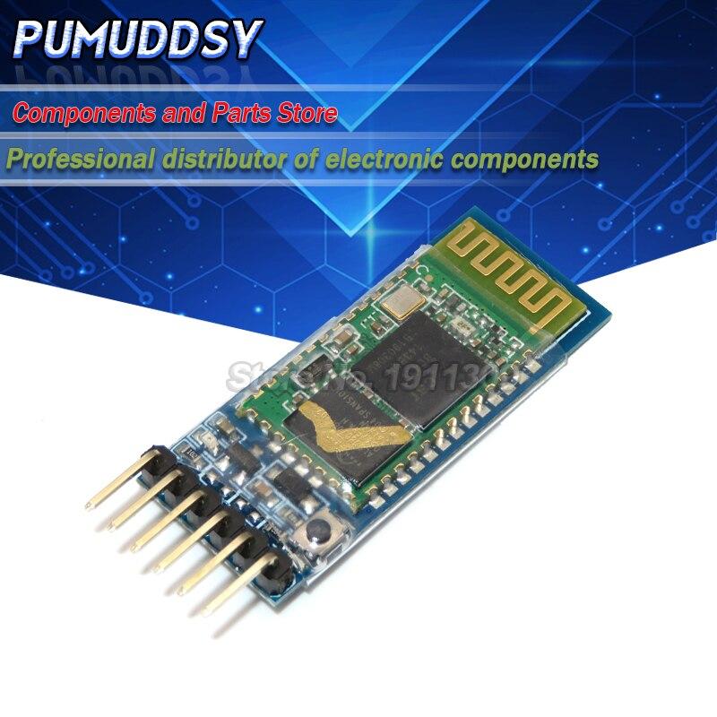 1 шт./лот HC-05 HC 05 RF беспроводной Bluetooth трансивер Slave модуль RS232 / TTL в UART конвертер и адаптер