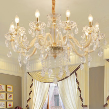 Crystal LED Chandelier lighting modern luster ceiling chandelier Living Room bedroom hotel lobby chandeliers fixtures