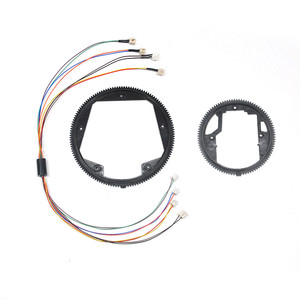 360 Degree Turret Turn Gear Electric Slip Ring Steering Gear for 1/16 HL HENGLONG RC Tank Parts Accessories