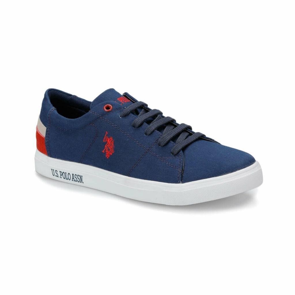 حذاء رياضي رجالي ماركة يو اس بولو اسن سكوت أزرق كحلي|أحذية التزلج| - AliExpress