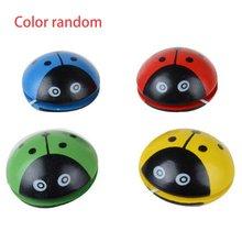 Милые животные деревянные игрушки йойо портативный Божья коровка печать yoyo мяч для детей рука-глаз развитие координационной деятельности