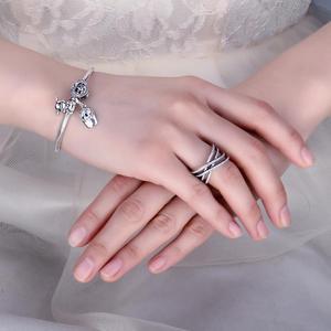 Image 3 - Jewelrypalace Bạc 925 Đan Xen Vào Nhau Tuyên Bố Vòng Như Beatiuful Trang Sức Mới Bán Cho Nữ Quà Tặng Tốt Nhất