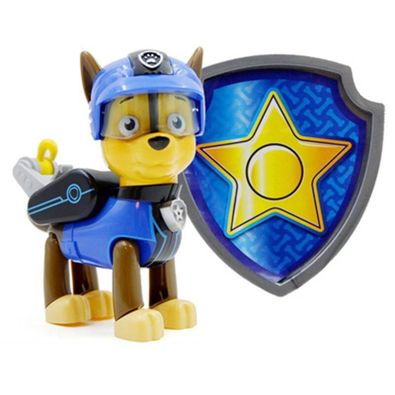 Paw Patrol, набор игрушек, собака Patrulha Canina, аниме, фигурка автомобиля, фигурки, украшения, игрушки для детей, подарки на день рождения 2D32 - Цвет: 16 no box