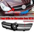 Высокое качество W219 автомобильный передний бампер сетка решетка гриль для Mercedes для Benz W219 CLS500 SLS600 CLS 2005-2008 без эмблемы