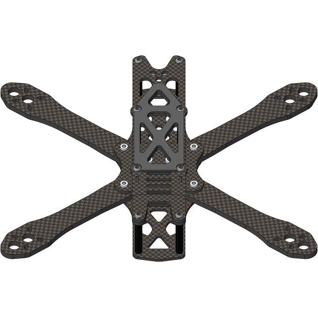ALIEN FPV RAHMEN Alien RR5 5/6/7 zoll rahmen kit RC Drone FPV Racing Quadcopter Freestyle stretch X UAV Unterstützung 2205 2306 5045 F3F4
