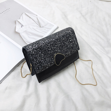 Women Bag New Snake Chain Shoulder Fashion Leather Crossbody Small Square