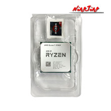 AMD Ryzen 7 3700X R7 3700 × 3.6 Ghz の 8 コア Sinteen スレッド CPU プロセッサ 7NM L3 = 32 メートル 100 000000071 ソケット AM4 新ないファン