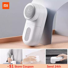 Original Xiaomi Mijia Electric Lint Remover Portable Hair Ball Trimmer Efficient Cleaning Fuzz Removing Machine for Clothes