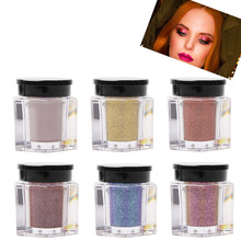 8 Colors Brand Shimmer Loose Eye Shadow Powder Glitter Eyeshadow 3D Nude Metallic Eyes Waterproof