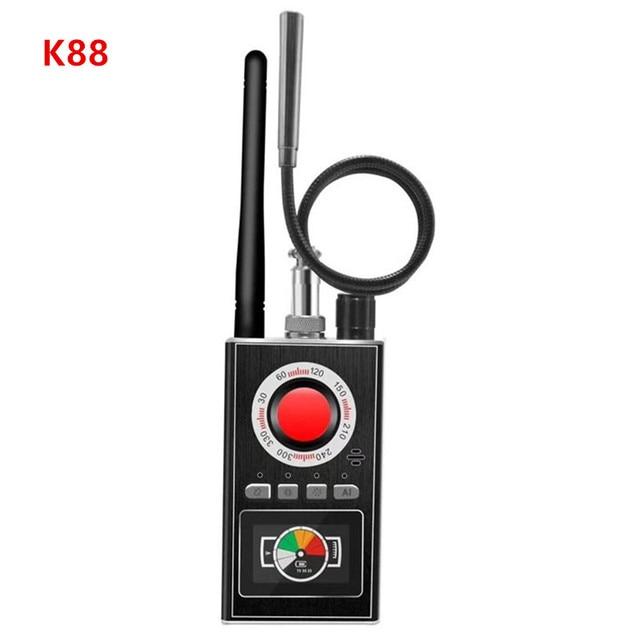 AI Intelligent Upgrade Wiretap Anti Spy Bug Detector Mini Hidden Camera GSM GPS Tracker Eavesdropping Finder 1
