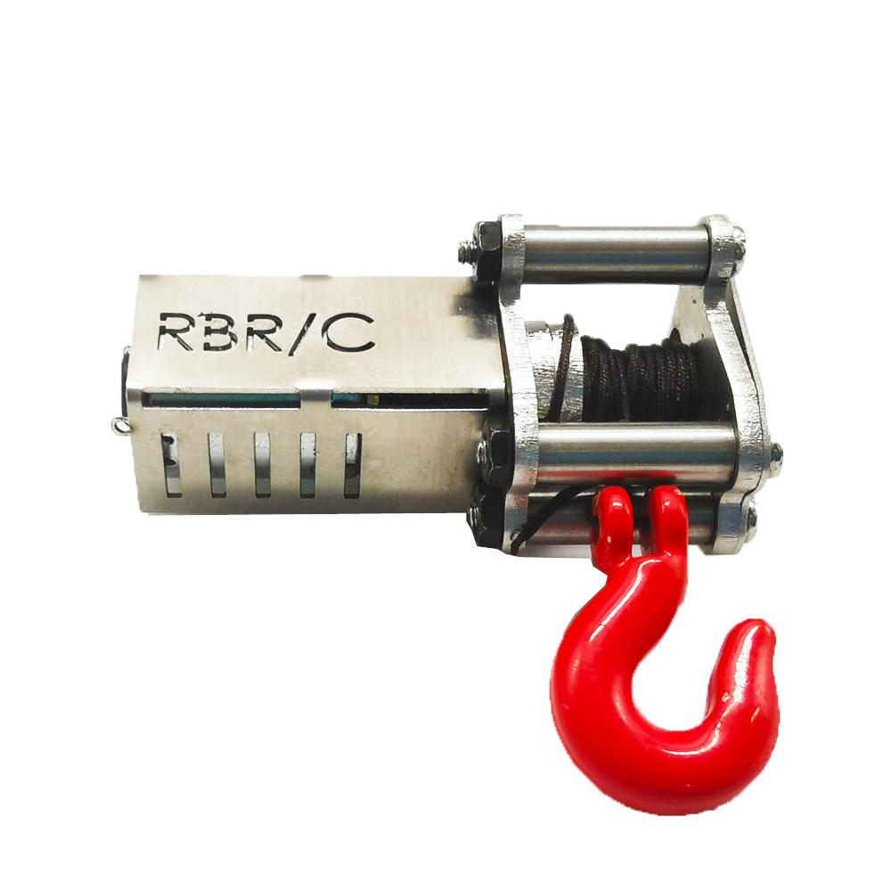 RBR/C Mini Metal Automatic Winch for 1/16 RC Car B16 B24 B36 C14 C24 C34 <font><b>JJRC</b></font> Q60 Q61 <font><b>Q65</b></font> MN 90 99 99S RC Car <font><b>Parts</b></font> image
