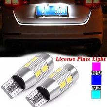 2PCS Super Bright Car Led T10 License Plate Light For Volkswagen VW Passat B6 B5 B7 B8 Golf Polo Opel Astra J H Insignia Corsa
