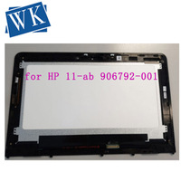 for HP 11 ab 906792 001 906791 001 lcd screen touch digitizer display assembly with frame|Laptop LCD Screen|Computer & Office -