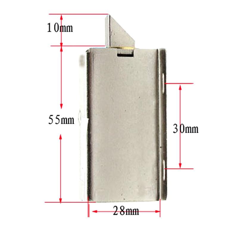 DC 12V/24V Open Frame Type Solenoid For Electric Door Lock LHB99