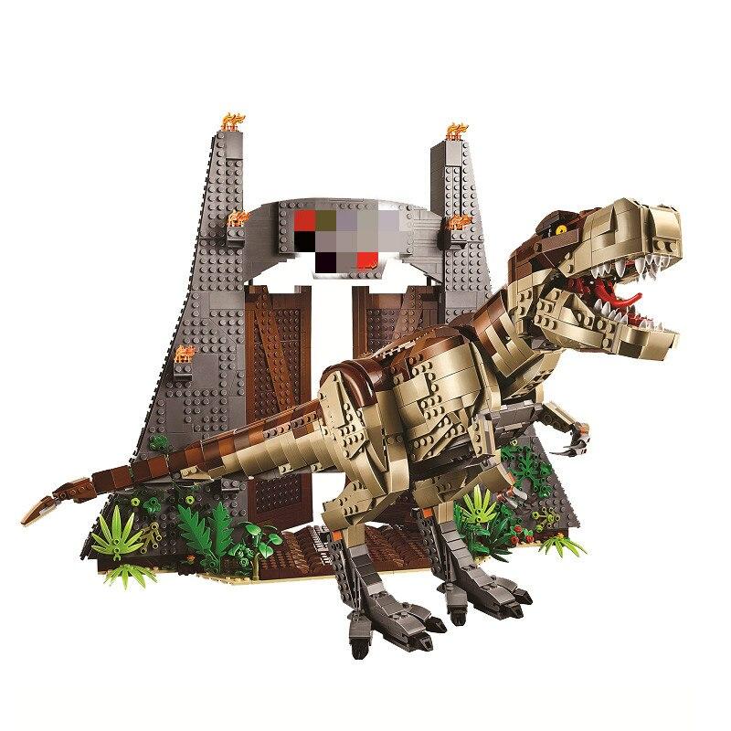 61001 parc de dinosaures Compatible 75936 Rex Rampage blocs de construction briques jouets éducatifs cadeaux de noël