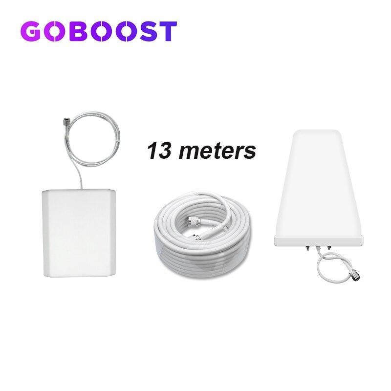 Antenna Full Set Accessories For Cellular Cellphone Signal Booster 2G GSM 900 LTE 1800 2100 3G 4G LDPA Antenna Penal Antenna *